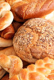 Bread and buns close up Stock Photography