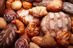 Bread and buns Stock Image