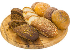 Bread and buns Stock Photography