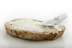 Bread and butter Royalty Free Stock Photos
