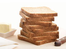 Bread and butter Royalty Free Stock Images