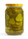 Bread and Butter Pickles Royalty Free Stock Image