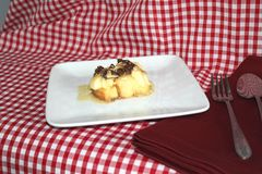 Bread and Butter Pudding Stock Images