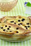 Bread and Butter pudding Stock Photography