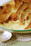 Bread and Butter Pudding royalty free stock photography