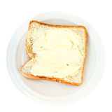 Bread and butter sandwich Royalty Free Stock Images