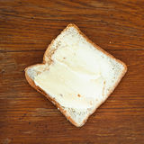 Bread and butter sandwich Royalty Free Stock Photo