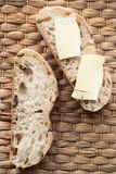 Bread and butter Royalty Free Stock Photography