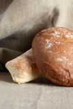 Bread On Canvas Royalty Free Stock Image