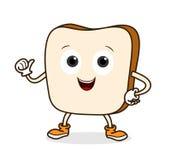 Bread Cartoon royalty free illustration