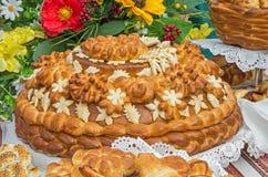 Bread celebratory Stock Images