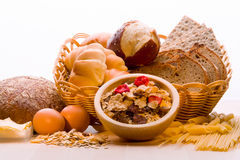 Bread, Cereal Plant, Pasta.Bread, Cereal Plant, Stock Images