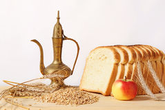 Bread and cereals Royalty Free Stock Image