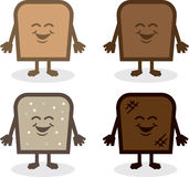 Bread Characters Royalty Free Stock Photography
