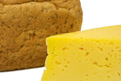 Bread with cheese Royalty Free Stock Image