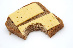 Bread&Cheese Royalty Free Stock Images