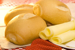 bread and cheese Royalty Free Stock Image
