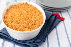 Bread and Cheese Crumble Royalty Free Stock Photo