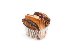 Bread chocolate muffin cakes Stock Photography