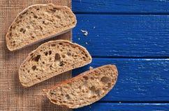 Bread ciabatta sliced Royalty Free Stock Photo