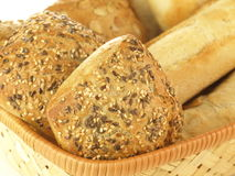 Bread, close up Stock Photography