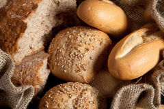 Bread closeup Stock Images