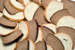 Bread collage Royalty Free Stock Photo