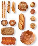 Bread Collection Royalty Free Stock Images