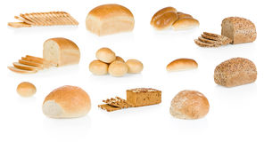 Bread collection Stock Images