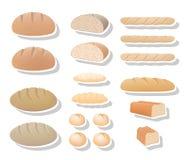 Bread collection Royalty Free Stock Photos