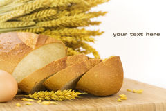 Bread composition Stock Photography