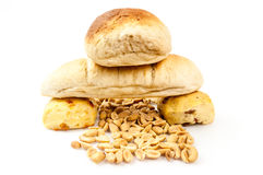 Bread composition Royalty Free Stock Photos