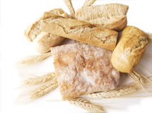 Bread composition Stock Photos