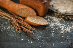 Bread composition Royalty Free Stock Photo