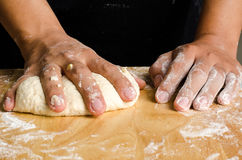 Bread cooking Royalty Free Stock Photography