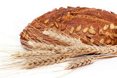 Bread with corn Royalty Free Stock Image