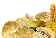 Bread Corner Royalty Free Stock Photos