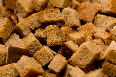 Bread crackers Royalty Free Stock Photography