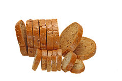 Bread and crackers Stock Photography