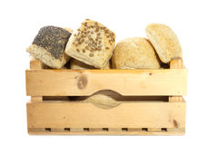 Bread crate Royalty Free Stock Photos