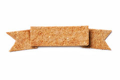 Bread crisp banner Royalty Free Stock Images
