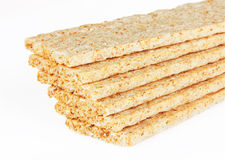 Bread crisps Royalty Free Stock Photo