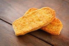 Bread crouton Stock Photos