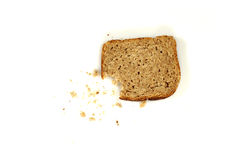 Bread with crumbs (2) Royalty Free Stock Photo