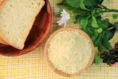 Bread crumbs Royalty Free Stock Photos