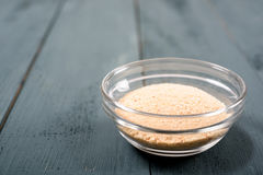 Bread-Crumbs Ingredient In Bowl Royalty Free Stock Photo