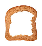 Bread Crust. Crust of bread isolated on white background stock photo