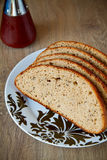 Bread With Cumin Stock Photo