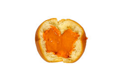 Bread custard orange cream Royalty Free Stock Photo