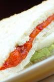 Bread Custard - Sandwich Custard Royalty Free Stock Image
